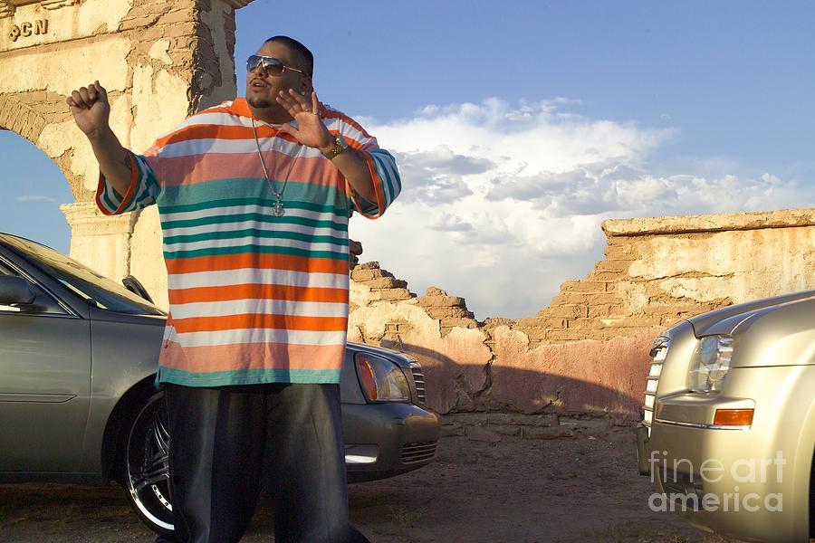 Rapper Photograph - Kilo Brown by Annie Perez