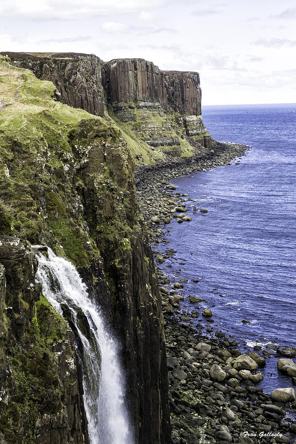 Kilt Rock Photograph - Kilt Rock On The Isle Of Skye by Fran Gallogly