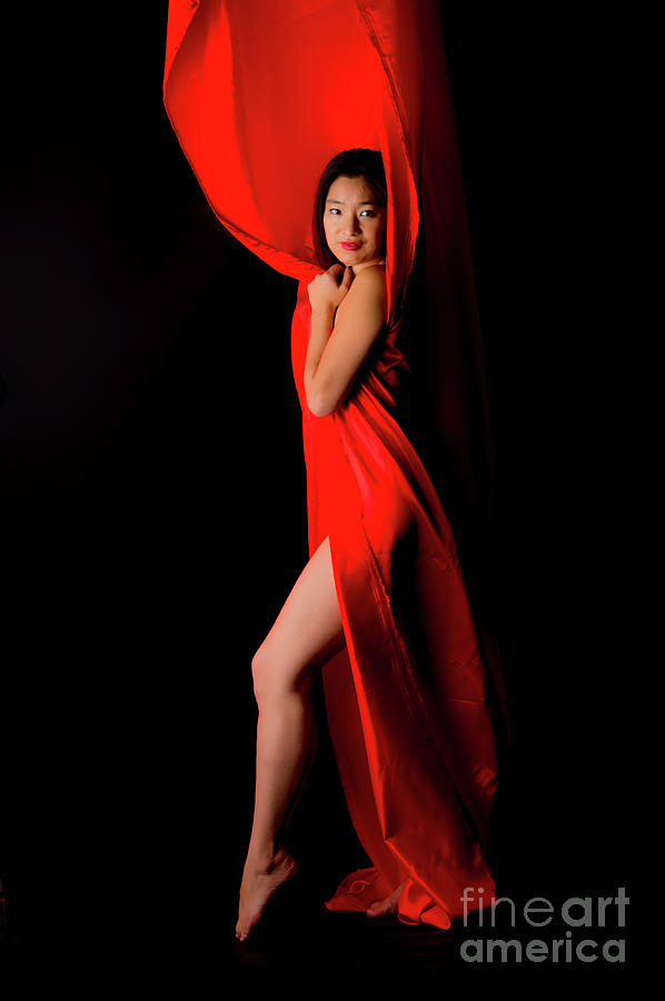 Kim In Red Photograph