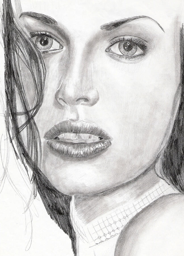 Nude Drawing Drawing - Kim by Michael McKenzie