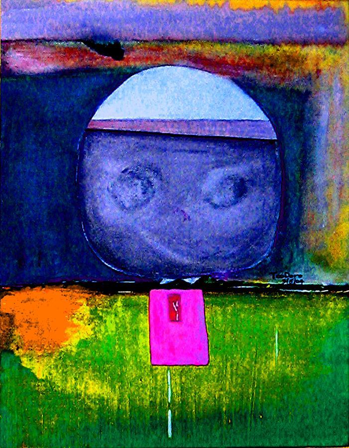 Kimba  5 Painting by Teo Santa