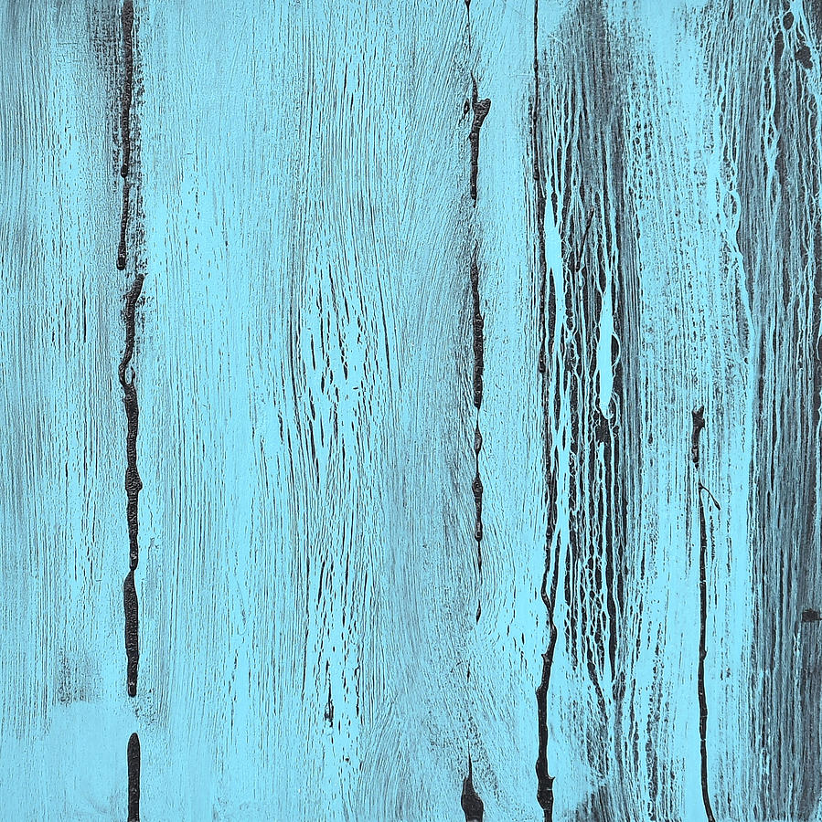 Kind of Blue Painting by Alice Lipping