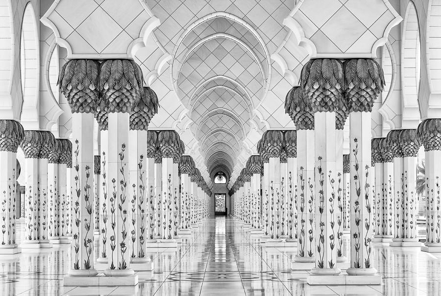 Architecture Photograph - Kind Of Symmetry by Stefan Schilbe