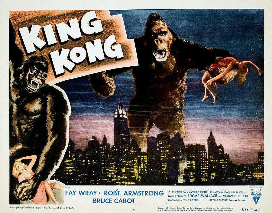 1930s Movies Photograph - King Kong, Fay Wray, 1933 by Everett