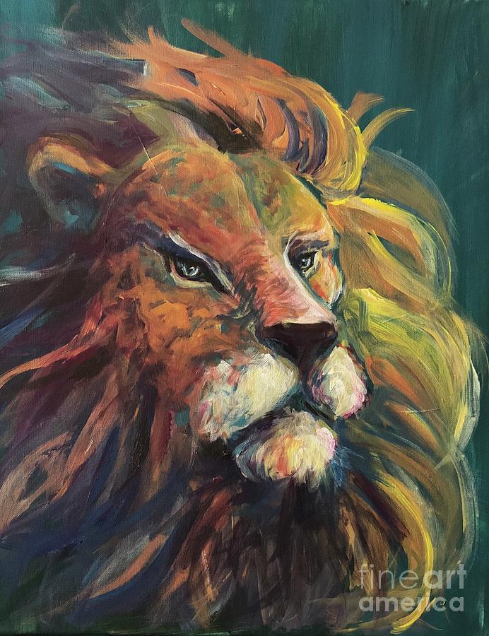 Aslan by Lisa DuBois