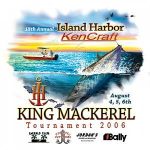 King Mackerel  - King Mackerel Tournament by Nancy C Toothman