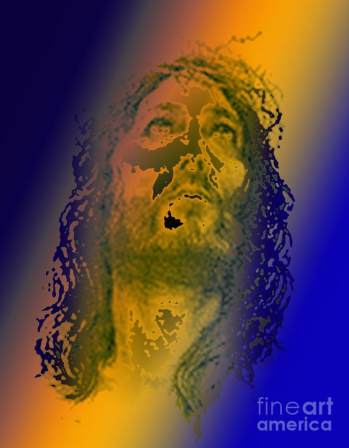 Jesus Digital Art - King Of Kingz 2 by Piety Dsilva