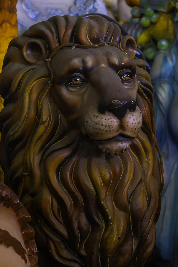 Mardi Gras Photograph - King Of The Beasts by Garry Gay