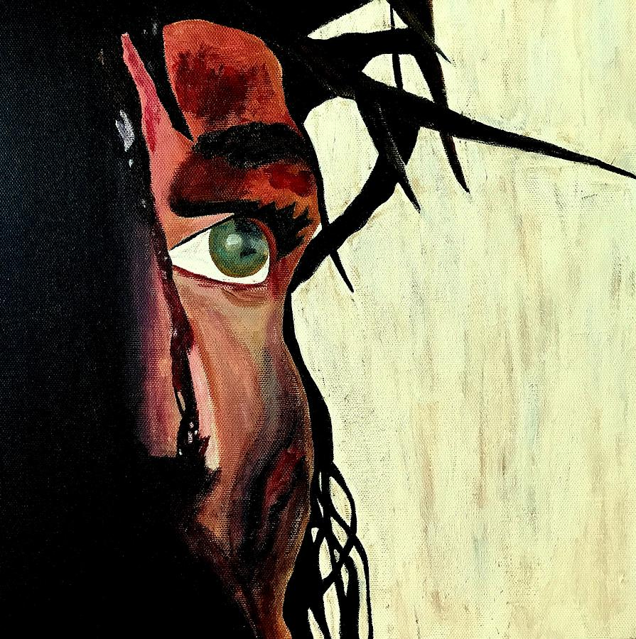 Jesus Christ Painting - King Of The Jews by Mikayla Ruth Koble