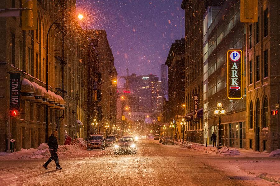 Architecture Photograph - King Street by Bryan Scott