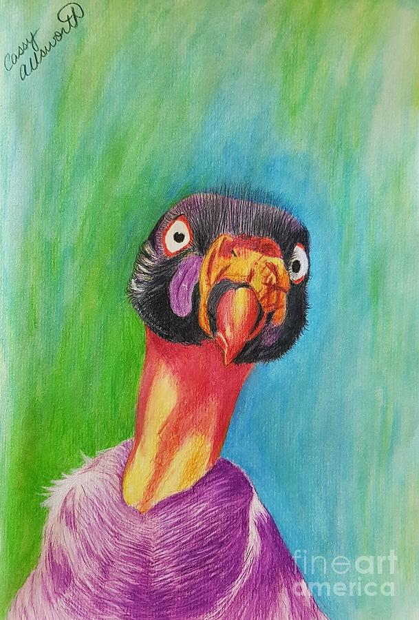King Vulture  by Cassy Allsworth