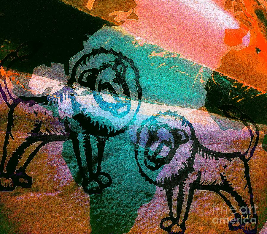 Fania Simon Digital Art - Kings And Kings - Tribe Of Judah by Fania Simon
