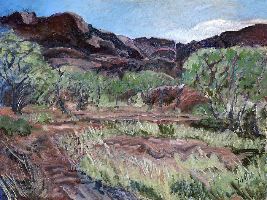 Australia Painting - Kings Canyon II by Joan De Bot