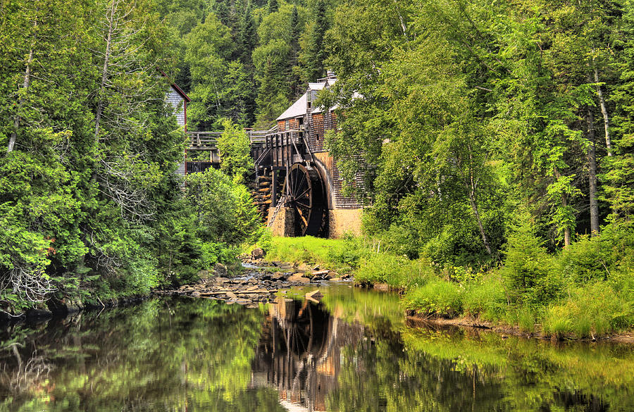 Mill Photograph - Kings Landing Old Mill   by Levin Rodriguez