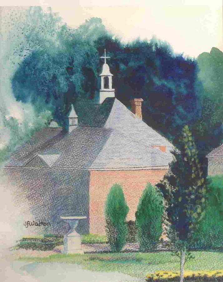 Gardens Painting - Kingwood by Judy Walton