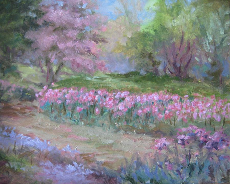Tulips Painting - Kingwood Tulips by Sharon Weaver