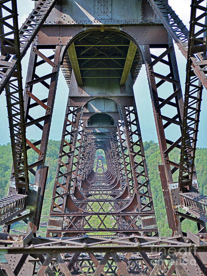 Railroad Photograph - Kinzua by Third Eye Perspectives Photographic Fine Art