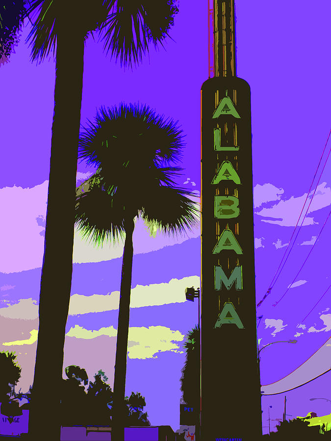 Houston Digital Art - Kirby And Alabama by Derick Van Ness