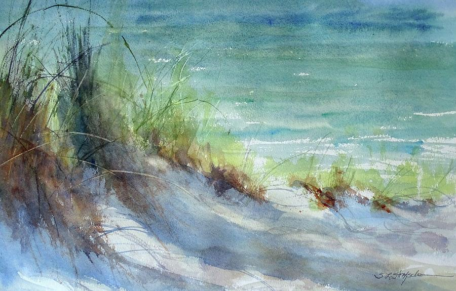 Lake Michigan Painting - Kirk County Morning by Sandra Strohschein