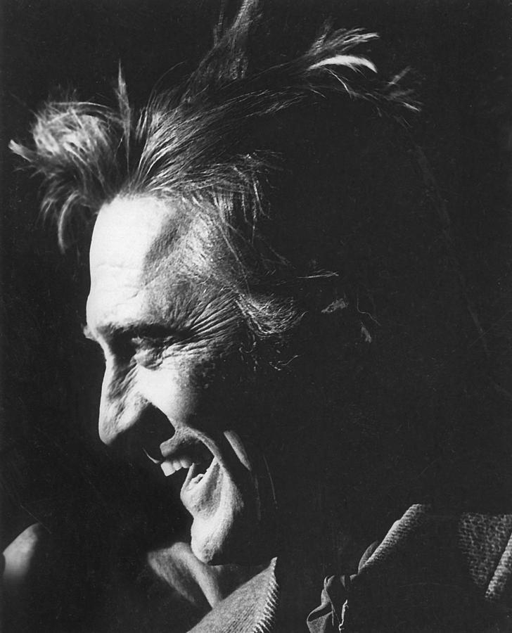 Kirk Douglas Laughing Old Tucson Arizona 1971 Photograph by David Lee Guss