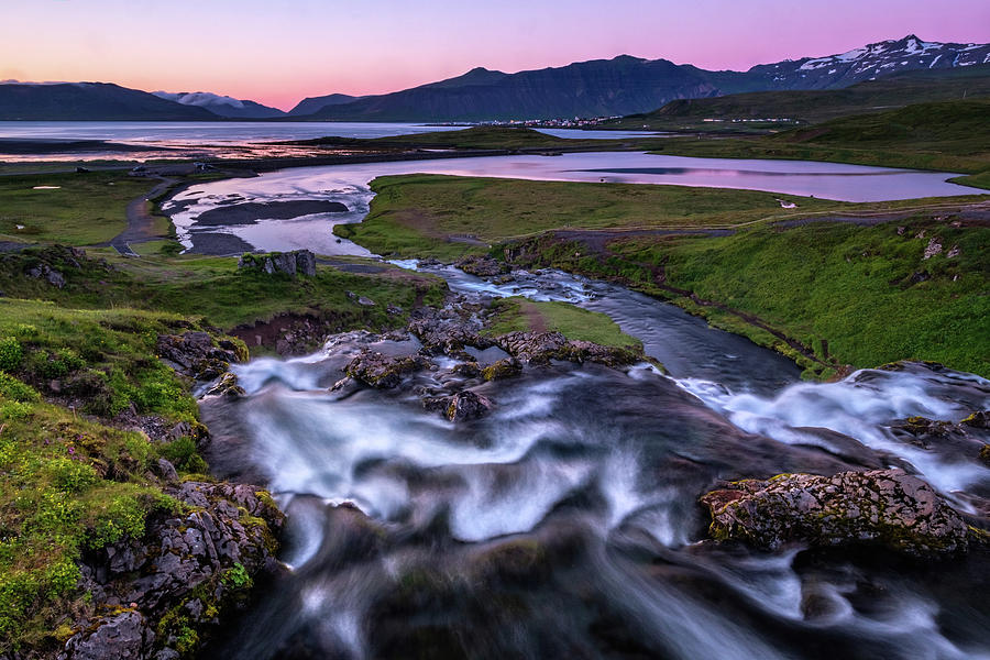 Kirkjufellfoss - A Different View by Neil Shapiro