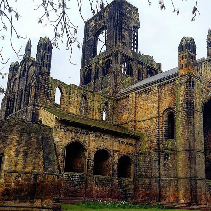 Leeds Photograph - #kirkstallabbey #leeds Hows Your Bank by Dante Harker
