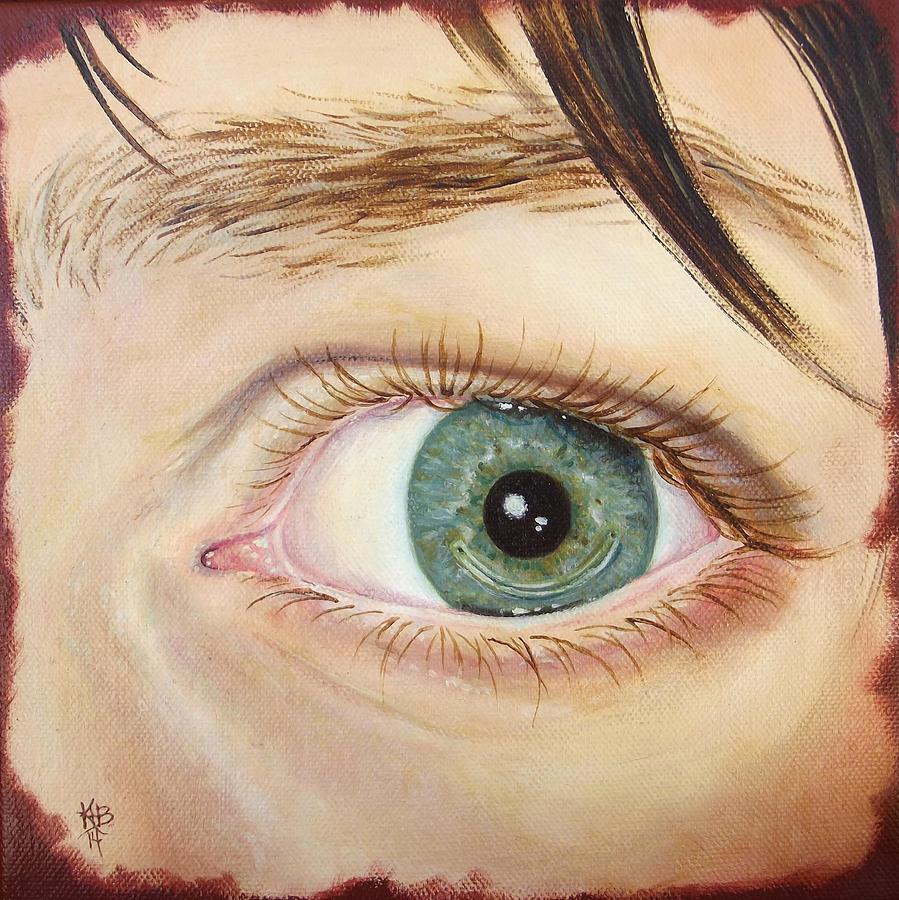 Keratoconus Painting - Kirstens Intac by Kirsten Beitler