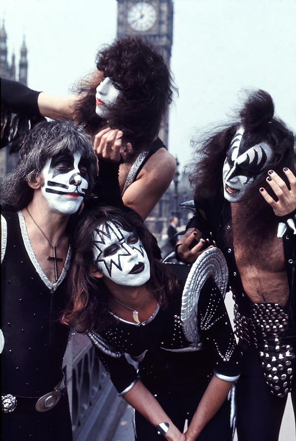 Kiss 1976 In London Photograph By Chris Walter