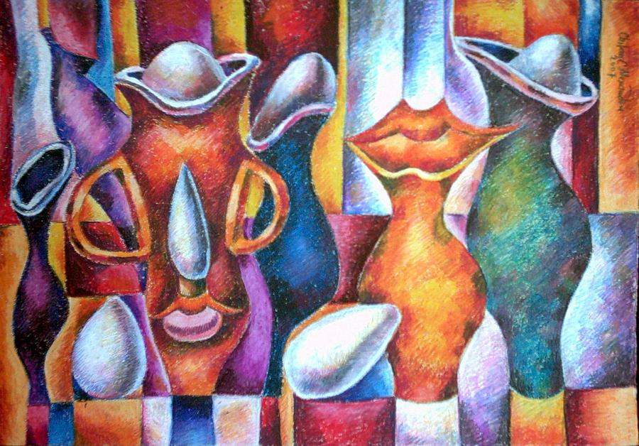 Kiss of Still Life Painting by Chifan Catalin  Alexandru