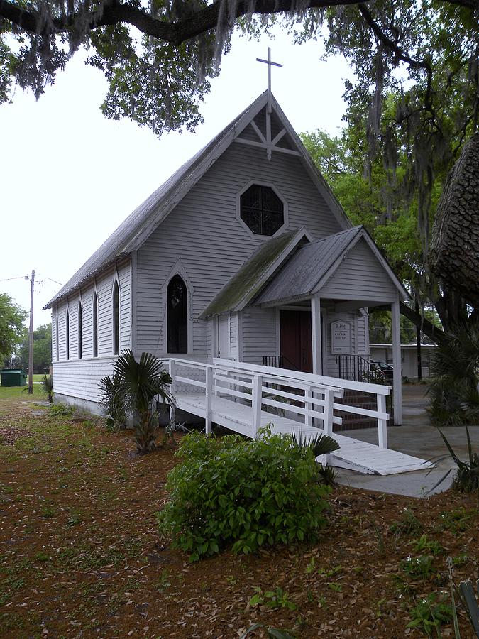 Photograph - Kissimmee Church by Kim Zwick