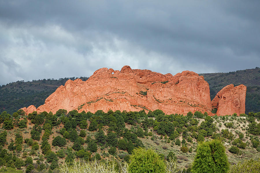 Kissing Camels Garden Of The Gods by Edward Moorhead