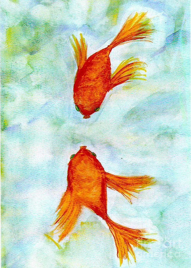 Kissy Fish Painting