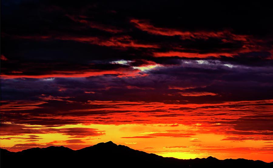 Kitt Peak Sunset Photograph