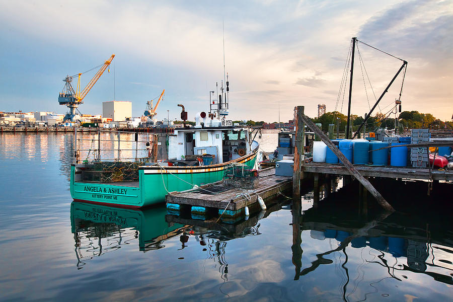 Kittery Photograph - Kittery Foreside by Eric Gendron
