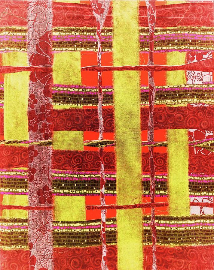 Kiva Tapestry - Textile - Kiva by Glenda Banta