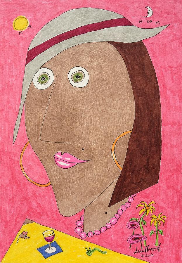 Kiwi Eyes by Lew Hagood