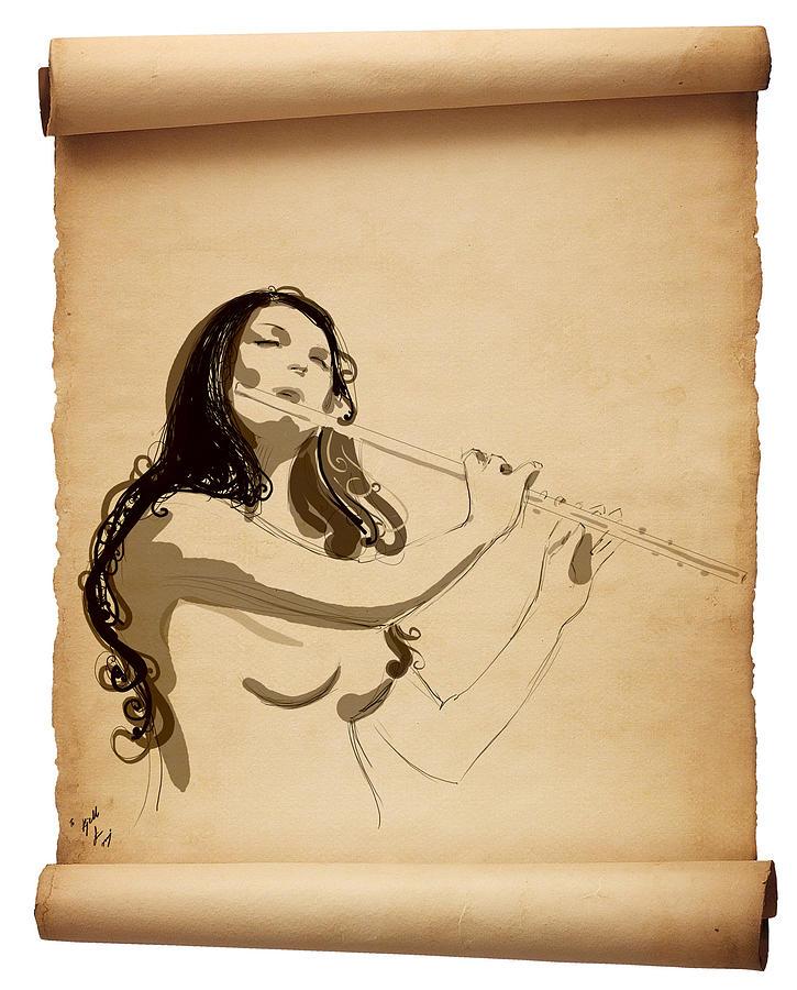 Kjell Digital Art by Raj
