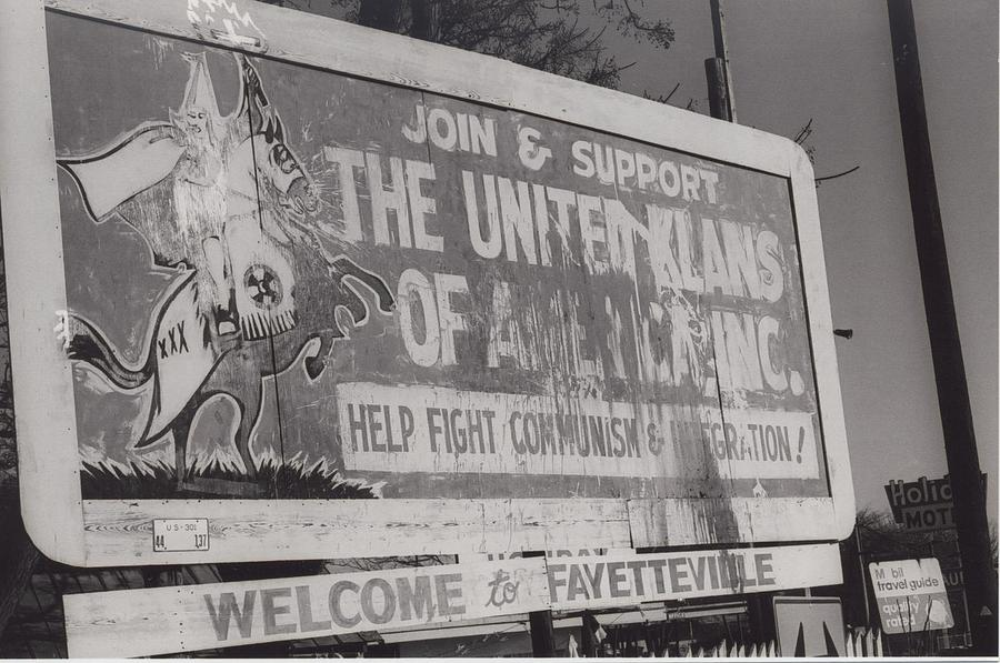 Americana Photograph - Kkk- 1975 by Signs Of The Times Collection