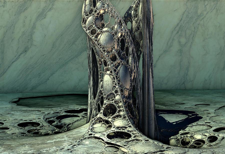 Klein Vine Digital Art by Hal Tenny