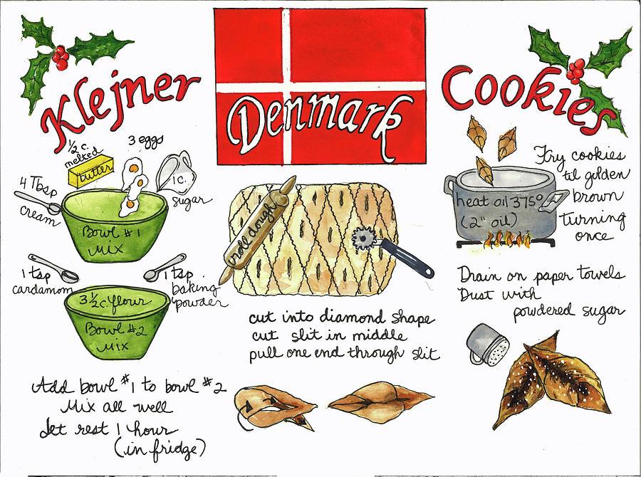 Klejner Cookies by Diane Fujimoto