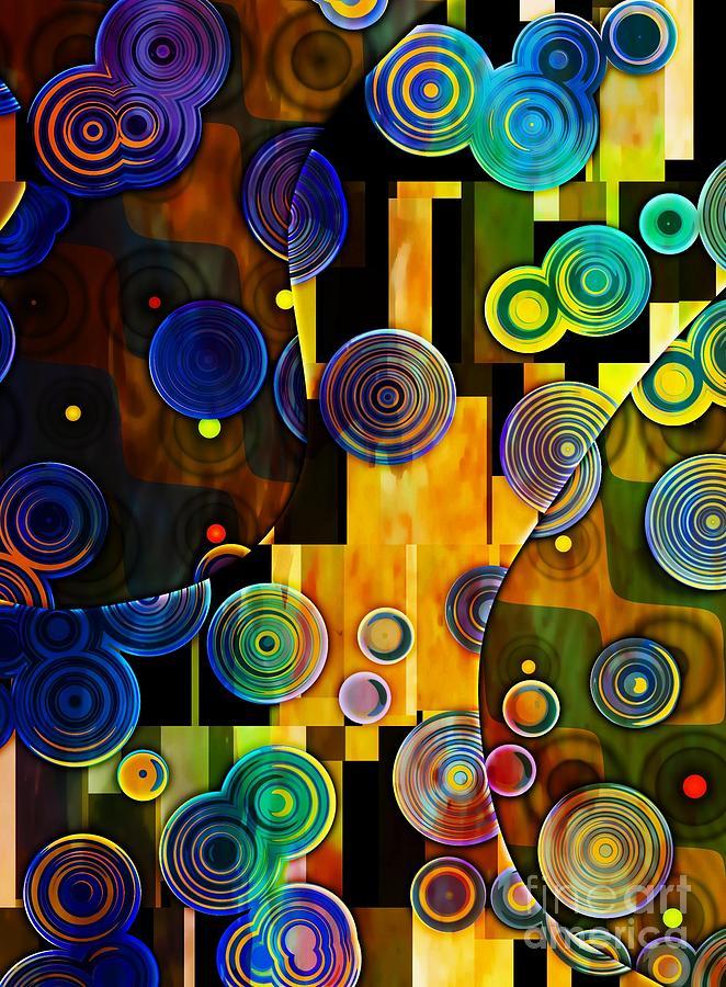 Klimt Inspired I by Amanda Moore