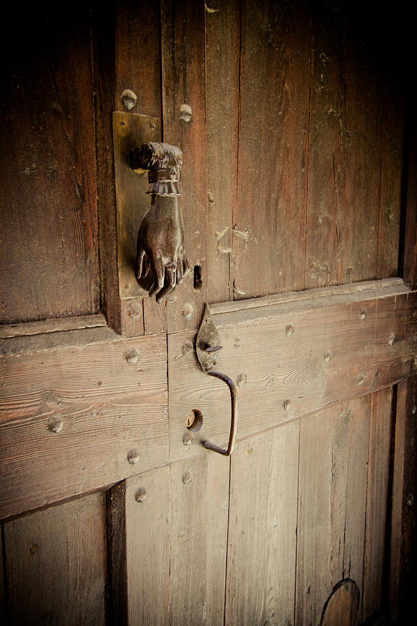 Antique Photograph - Knock Knock by Jason Smith