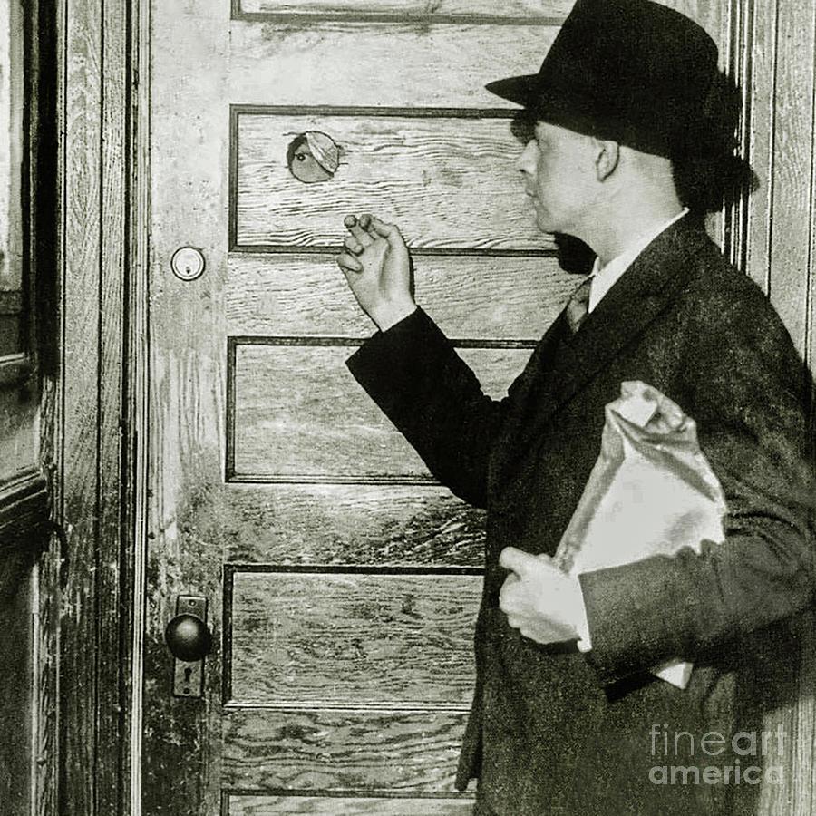 Prohibition Photograph - Knock Soft At The Speakeasy by Jon Neidert