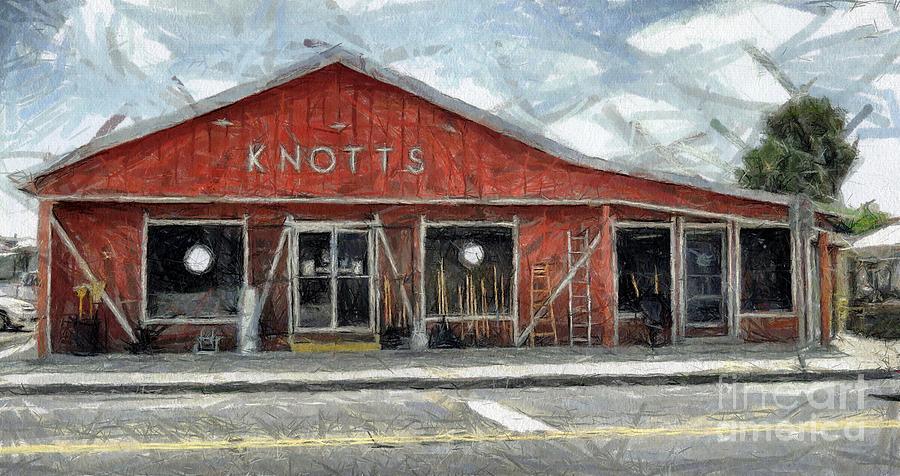 Hardware Painting - Knotts Hardware by Murphy Elliott