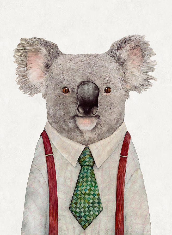 Koala Painting By Animal Crew