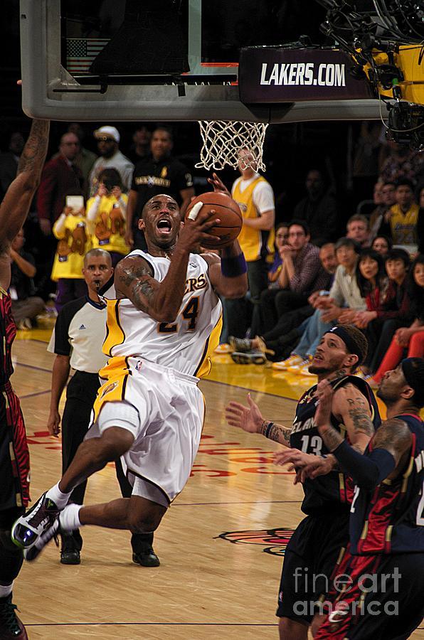 Lakers Photograph - Kobe by Marc Bittan