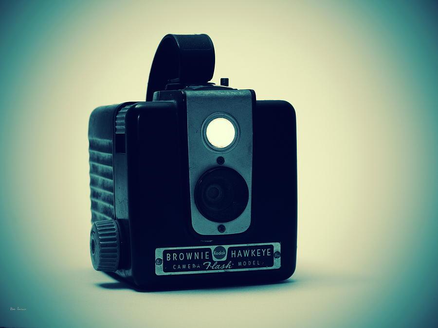 Camera Photograph - Kodak Brownie by Bob Orsillo