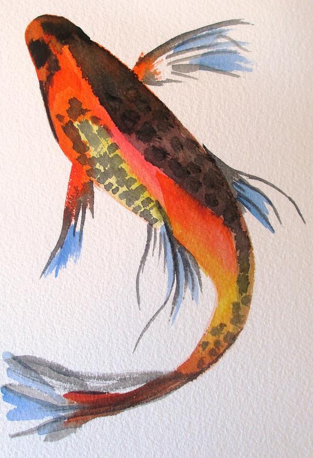 Koi Painting - Koi Part One by Sacha Grossel