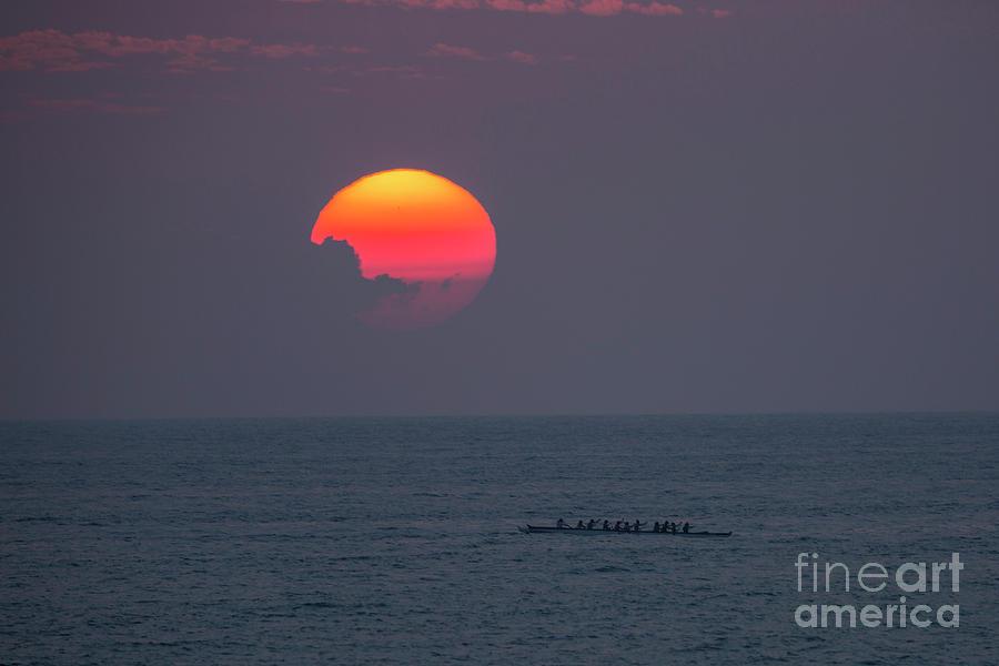 Kona Sunset 1 by Daniel Knighton