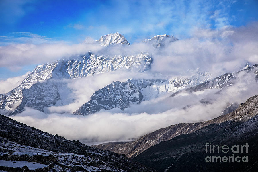 Trekking Photograph - Kongde Ri by Scott Kemper